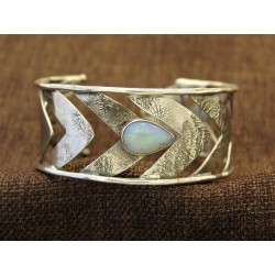 Silver Βracelet 925 With Opal