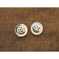 Silver Earrings 925 with Pearl