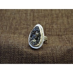Silver Ring 925 With Garnet