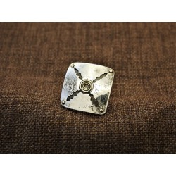 Silver Ring 925 With 14K Gold