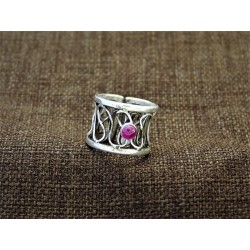 Silver Ring 925 with...