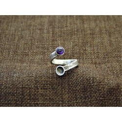 Silver Ring 925 with Amethyst