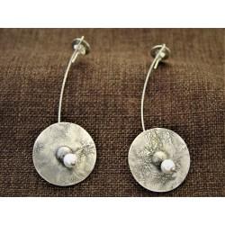 Ασημένια σκουλαρίκια 925 με...