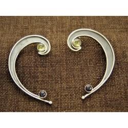 Oxidized Silver Earrings...