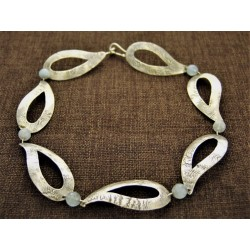 Silver Necklace 925 with...