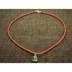 925 Silver Necklace with...